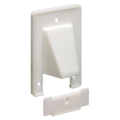 Arlington Reversible 2-Piece Cable Access Wallplate, 1-Gang