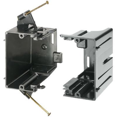 Arlington Gangable Low-Voltage Mounting Box, Nail-On