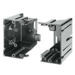 Arlington Gangable Low-Voltage Mounting Box, Screw-On