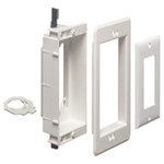 Arlington Recessed Low-Voltage Mounting Bracket, 1-Gang