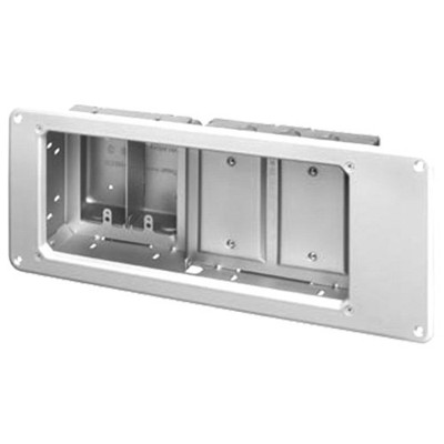 Arlington Recessed Steel TV Box for Power & Low-Voltage