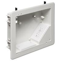 Arlington 8x10 TV BOX for Power & Low-Voltage