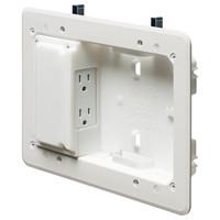 Arlington Low-Profile TV Box for Shallow Wall Depths
