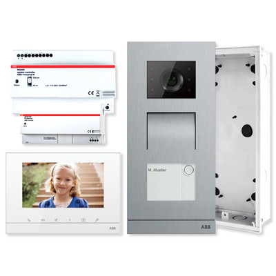 ABB-Welcome IP Video Single Family Home Kit