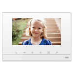 ABB-free@home Touch Indoor Video Station, 7 inch, White
