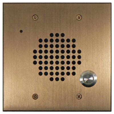 DoorBell Fon DP28 Extra Door Station, 2-Gang Masonry Box Mount