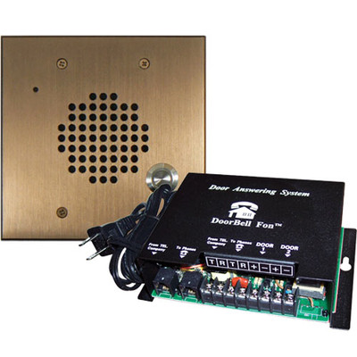 DoorBell Fon DP28 Door Answering System, 2-Gang Masonry Box