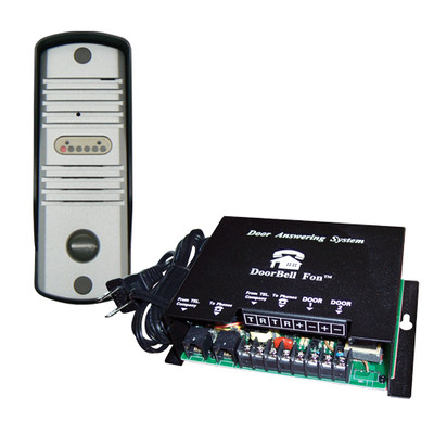 DoorBell Fon S-Series SlimLine Door Station Kit, Aluminum