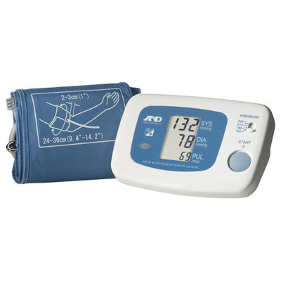 A&D LifeSource Automatic Blood Pressure Monitor with Wired Data Output