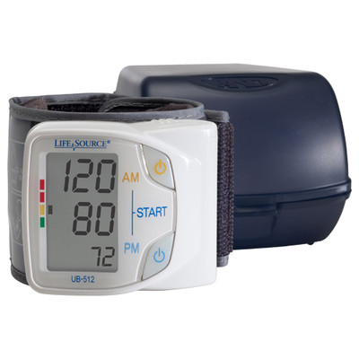 A&D LifeSource Dual Memory Wrist Blood Pressure Monitor