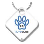 Autoslide K9 Pet Tag, White
