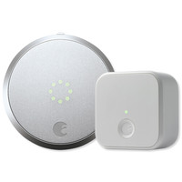 August Smart Lock Pro + Connect, Silver