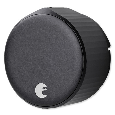 August Wi-Fi Smart Lock, Matte Black