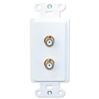 Advanced Dynamics Splitter/Wallplate Pro Insert, White