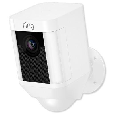 Ring Spotlight Cam, Battery, White