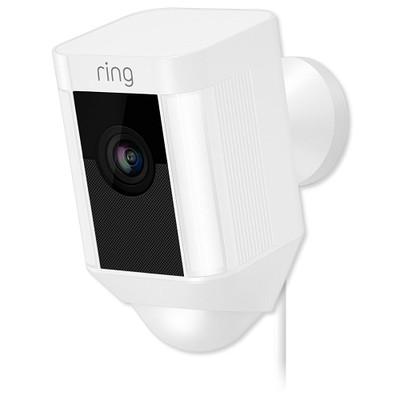 Ring Spotlight Cam, Wired, White