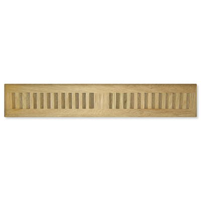 Cool Components Grill for Narrow 2x15.5 In. Openings, Oak