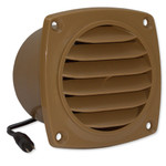 Cool Components Cabinet Vent, Tan