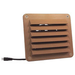 Cool Components HiFlo Lite Vent with Plastic Grill, Tan
