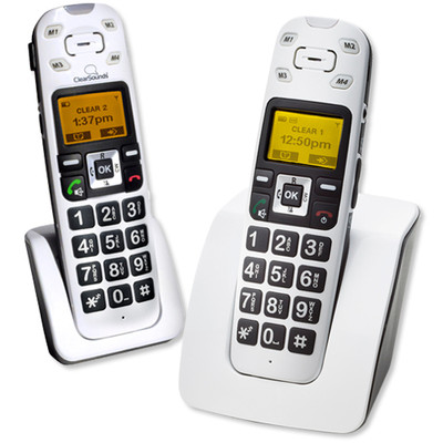ClearSounds A400 DECT 6.0 Amplified Cordless Bundle