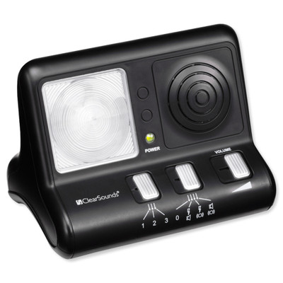 ClearSounds ClearRing Amplified Telephone Ring Signaler