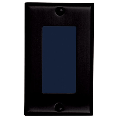 Channel Vision In-Wall Single-Gang Camera, WDR, Black