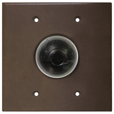 Channel Vision 2 Megapixel Flush-Mount IP Camera, Oil-Rubbed Bronze