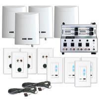Channel Vision Crescendo Audio Distribution Kit, 4 Sources, 4 Zones