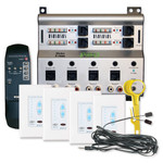 Channel Vision A-BUS Audio Distribution Kit, 4 Source/4 Zones
