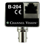 Channel Vision IP Camera Balun Over Coax Converter Kit