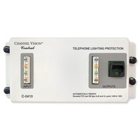 Channel Vision Telephone Surge Protection Module, 4-Lines