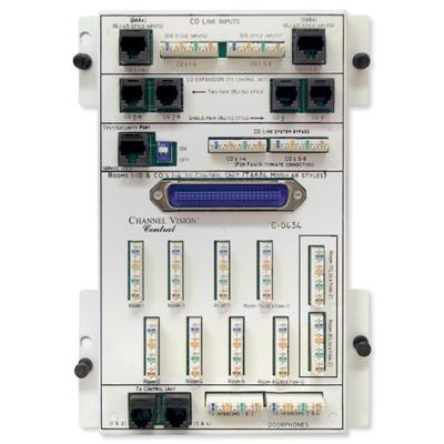 Channel Vision 8x10 KSU Telephone Distribution Module
