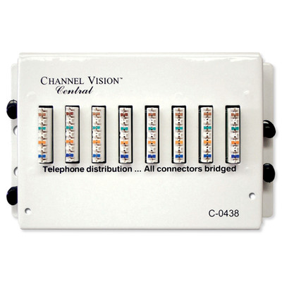 Channel Vision 110 Telephone Distribution Module