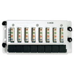 Channel Vision 8x8 Cat6 Data Patch Panel