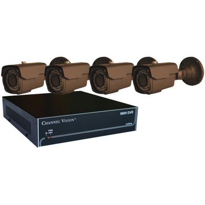Channel Vision HE Digital Video Recorder (DVR) & Bullet Camera Kit