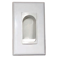 Channel Vision Cable Access Wallplate, 1-Gang
