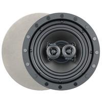 Channel Vision 6.5 In. Soprano ARIA Single Point Stereo In-Ceiling Frameless Speaker