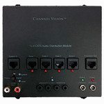 Channel Vision A-BUS Audio Distribution Hub, 1 Source, 4 Zones