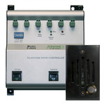 Channel Vision Telephone Entry Controller Kit, Black