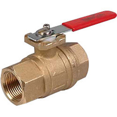 WaterCop Water Shut-Off Valve With Lever Handle for Rough In, Lead Free, 1 In.