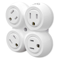 360 Electrical RevolveBasic® 4-Outlet Rotating Power Adapter