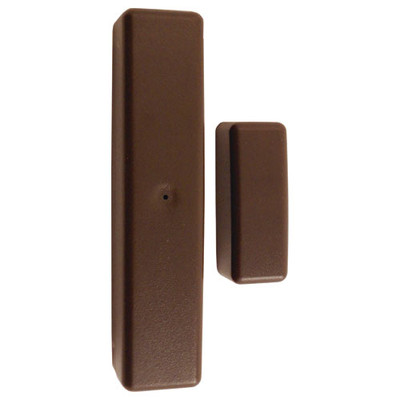 Elk 2-Way Wireless Slim Line Door/Window Sensor, Brown