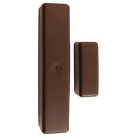 Elk 2-Way Wireless Slim Line Door/Window Sensor, Brown