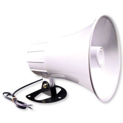 Elk Interior/Exterior Horn Speaker, 8 Ohms, 15W Horn