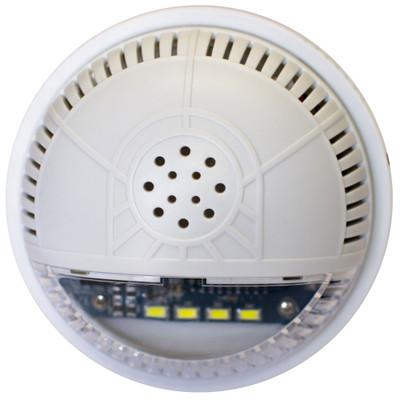 FortrezZ Z-Wave Indoor Siren & Strobe Alarm, Clear Lens