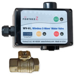 FortrezZ Z-Wave Indoor Automated Water Shut-off Actuator with 1/2 In. Valve