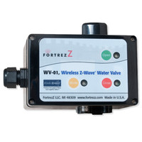 FortrezZ Z-Wave Indoor Automated Water Valve Actuator