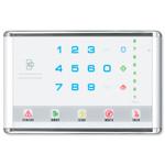 Interlogix NetworX Advanced Touch LED Keypad, Landscape, White