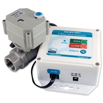 HomeSeer Z-Wave Plus 1 In. Water Valve Controller