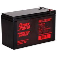 Interstate Batteries Power Patrol Lead Acid Battery, 12V 7Ah